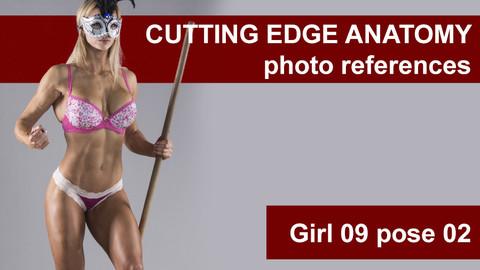 Cutting edge photo references Girl09 pose 02