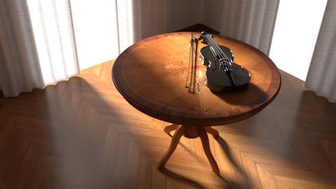 Tavolo con Violino