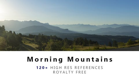 Moring Mountains Texture PACK