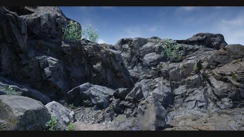 UE4 Realistic Modular Rocks