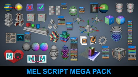Mel Script Mega Pack at a Discounted Price You Save $113
