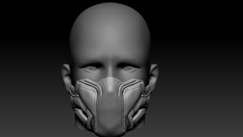 Quarantine / Cosplay Mask Black Panther