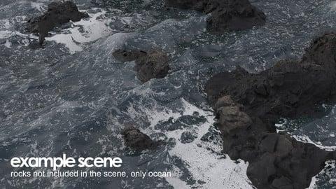 V-Ray Stormy Ocean Shader