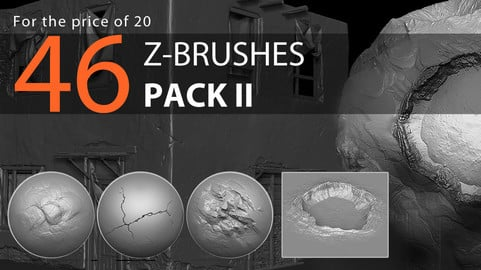 46 Z-brushes | Pack II
