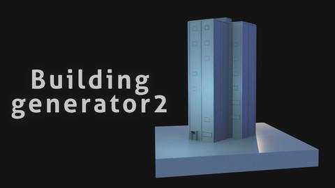 Simple Procedural Building generator