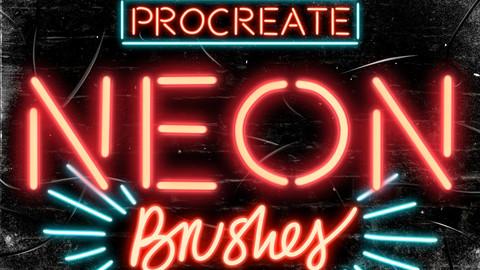 Neon Procreate Brushes