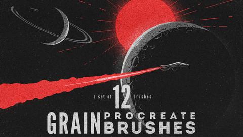 Grain Procreate Brushes