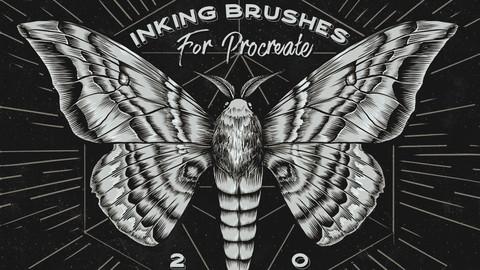 Inking Procreate Brushes
