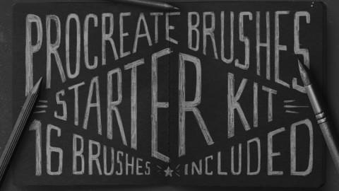Procreate Brushes Starter Kit