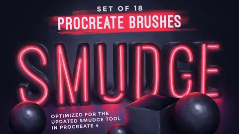 Smudge Procreate Brushes