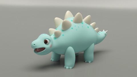 Baby Dino (Stegosaurus)