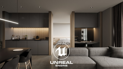 Project 'Top Floor' | Full Unreal Engine 4 Archviz Project | (Artstation Learning)