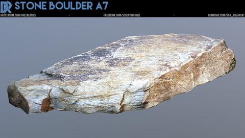 Stone Boulder A7