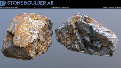 Stone Boulder A8
