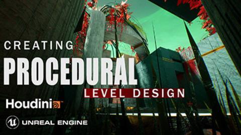 Houdini Tutorial Procedural Level Design in Unreal Engine 4