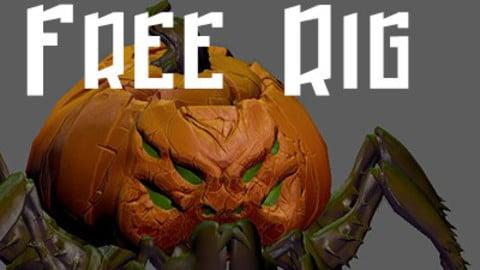 Pumpkin Spider Rig
