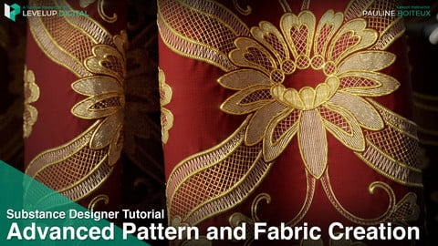 Advanced Pattern and Fabric Creation in Substance Designer | Pauline Boiteux