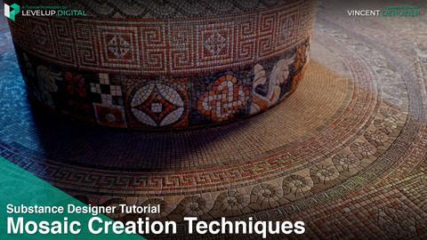 Mosaic Creation Techniques with Substance Designer | Vincent Dérozier