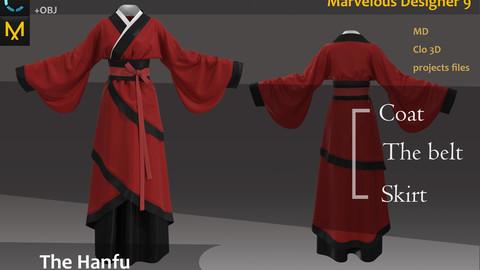 Female Hanfu & Kinmono_女性の漢服&着物