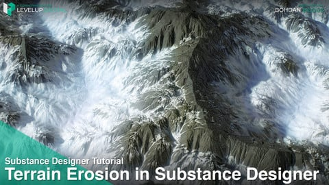 Terrain Erosion in Substance Designer | Bohdan Bilous