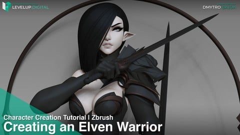 Creating an Elven Warrior | Dmytro Bajda
