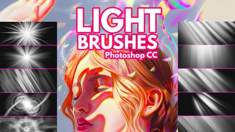 Light Brushes for Photoshop
