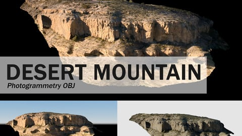 Desert Mountain Photogrammetry