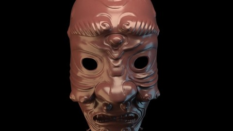 Samurai mask002