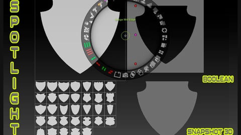 34 SHIELDS SPOTLIGTH ( SNAPSHOT 3D )