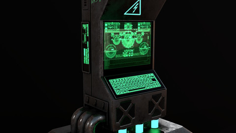 Sci-Fi Computer