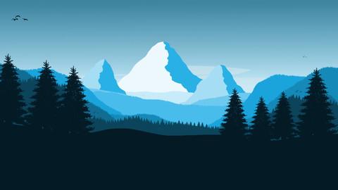 Layered Landscape 1