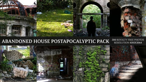 Abandoned House - Postapocalyptic Pack