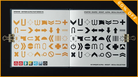 Oxygen Alpha - Decal Map Series 01 - Collection