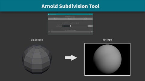 Arnold Subdivision Tool