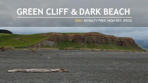 refs_GREEN CLIFF & DARK SAND BEACH
