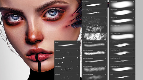 45 Procreate Brushes - Complete Brush Pack - Sale!!!