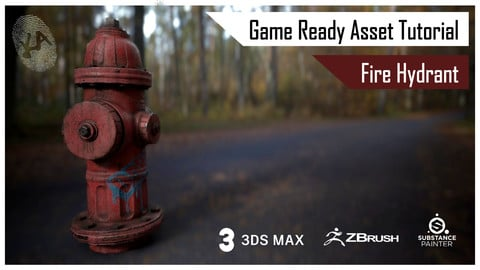 Fire Hydrant Game ready Asset