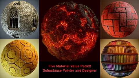 Five Material Value Pack