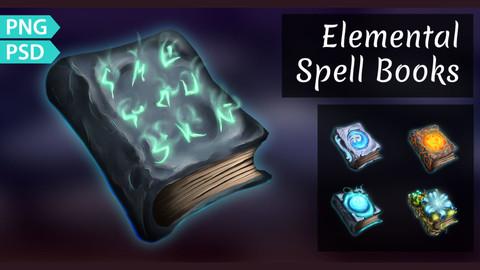 Fantasy Spell Books