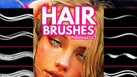 Hair Brushes for Photoshop