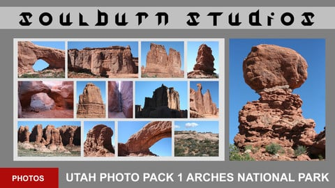 Soulburn Studios Utah Photo Pack 1 Arches National Park