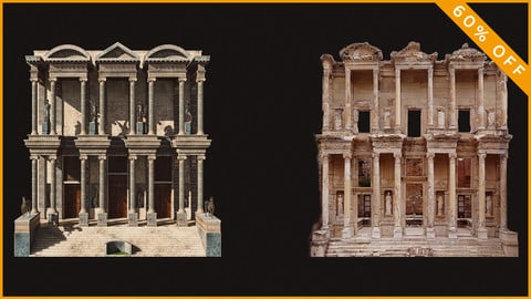 Library Of Celsus - Ephesus PBR