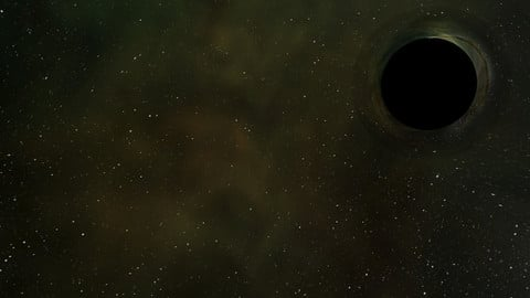 Free Realistic Black Hole