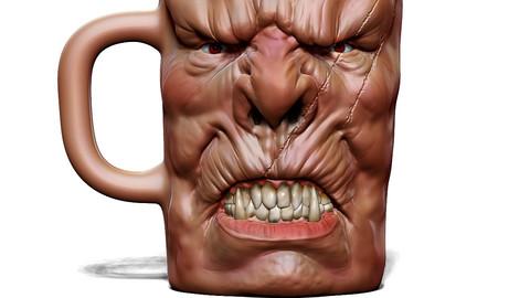 Mug for 3D Printing
