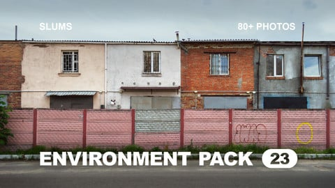 Env Pack 23 / Slums / Reference pack