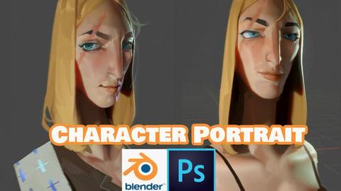 Portrait : 2D-3D