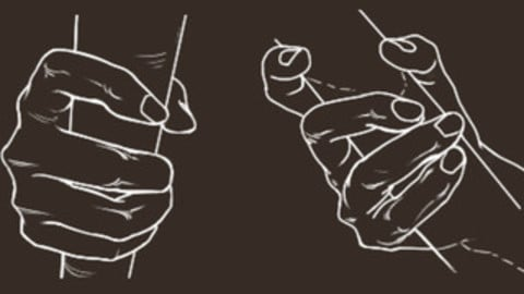 Hand with Rod / Staff Cheat Brushes Pack