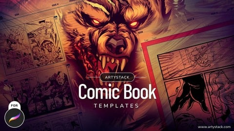 Comic Book Templates for Procreate