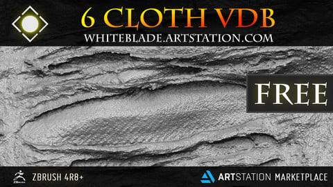 CLOTH VECTOR DISPLACEMENT BRUSHES - ZBRUSH 4R8+ FREE
