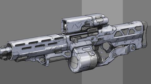 Futuristic Barrett concept